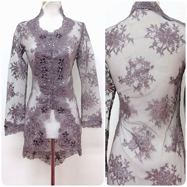 Gorgeous Kebaya Lace Trisya is available in XXS-XS size. Get yours today!