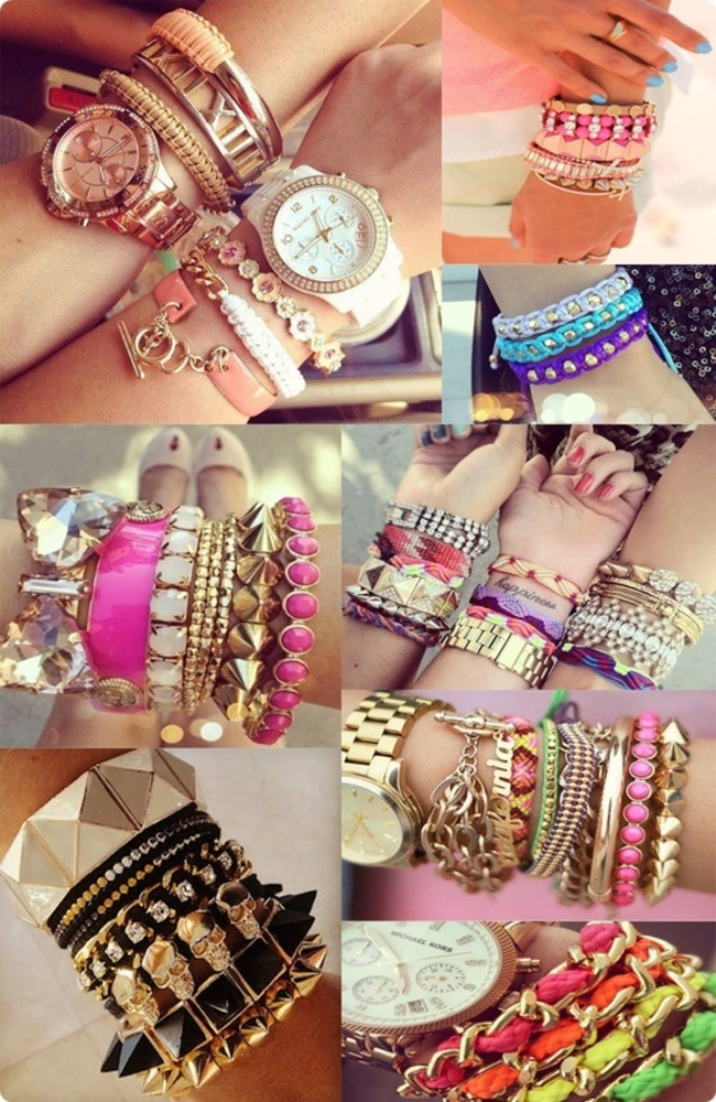 Arm Candy Bracelets Collage