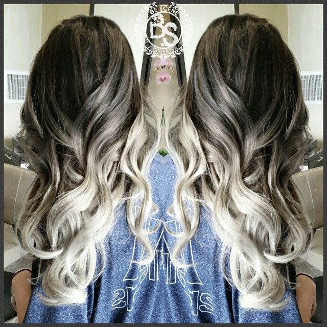 One of my most favorite ombres! I used @schwarzkopfusa igora royal for this color. #bescene #tbt