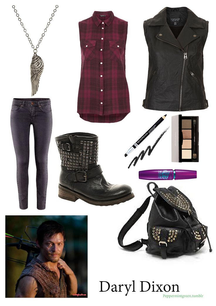 Daryl Dixon - the walking dead inspired fashion
