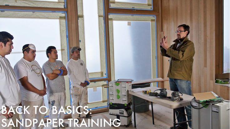 Back to Basics: Sandpaper Training