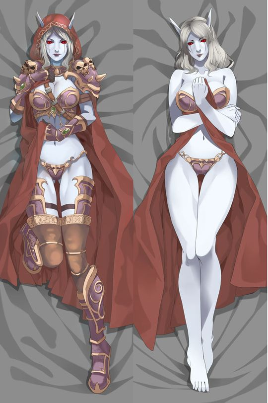World Of Warcraft Sylvanas Windrunner Dakimakura Hugging
