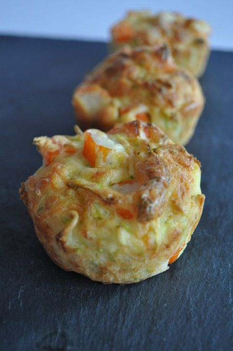 muffins courgette moelleux