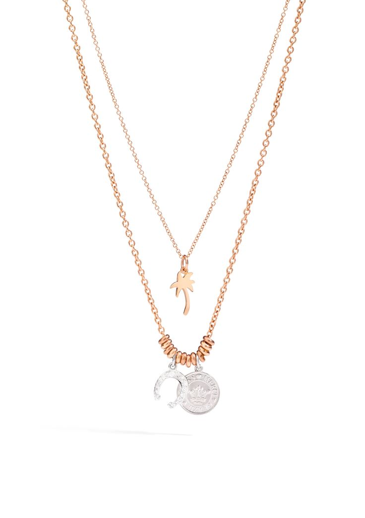 In rose gold, silver or white gold and diamonds, keep the luck with you with Dodo necklace and Lucky charms. Discover Dodo Horseshoe charm in white gold and diamonds.