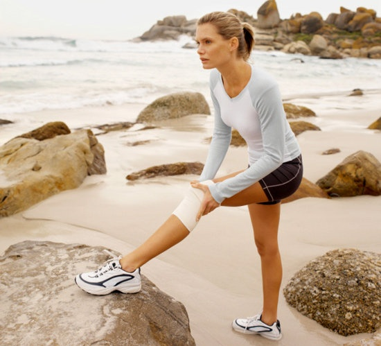 A couple of ways for runners to be nice to their knees . . .