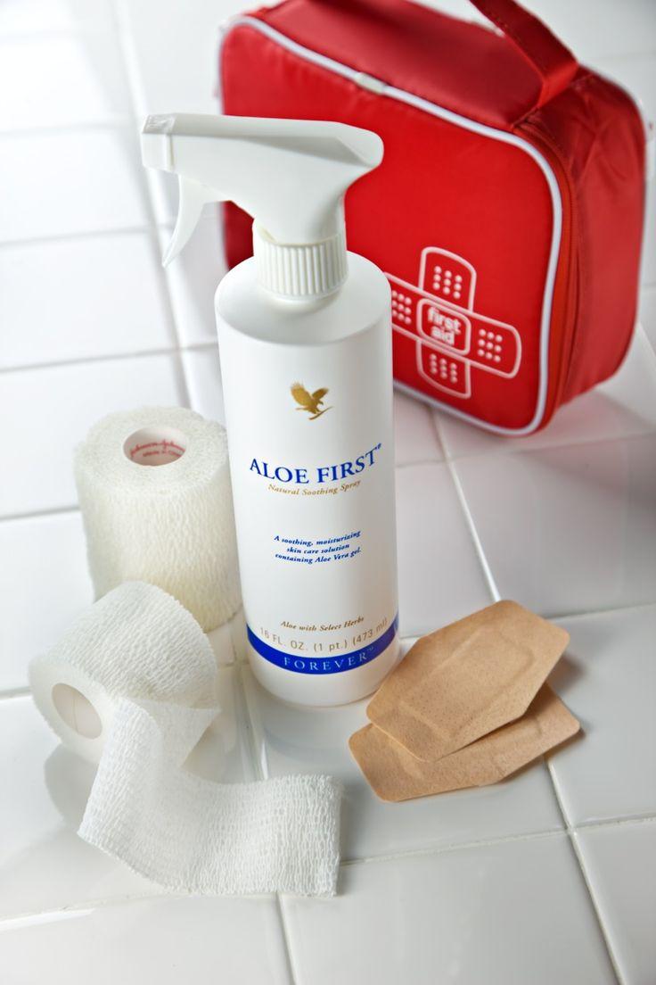Forever Aloe First (Καταπραϊντικό σπρέι από Αλόη Βέρα) €23,13