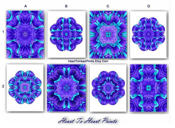 158 best Teal Mint Turquoise Purple Lavender Wall Art Home ...