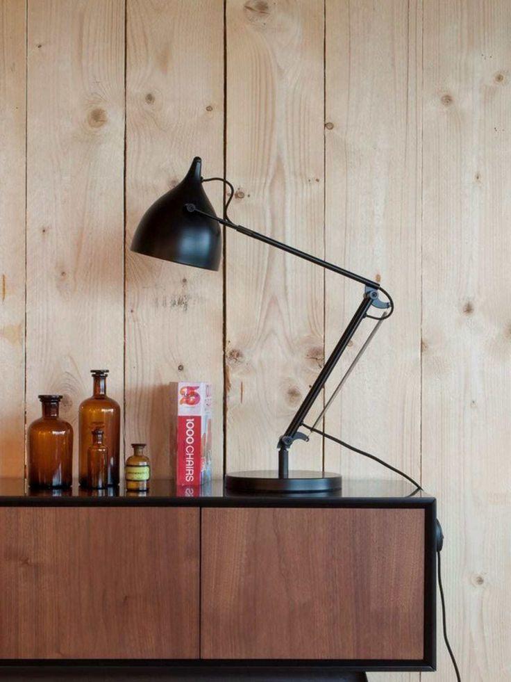 208 best schwarze lampen lights in black images on pinterest. Black Bedroom Furniture Sets. Home Design Ideas