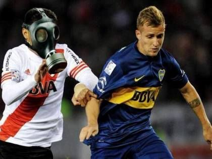 ataque de gas en Boca River