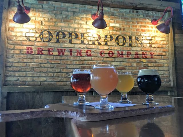 Copperpoint Brewing Company in Boynton Beach Florida serving up some great Florida craft beer.