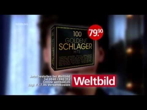 5 CDs mit den schönsten und erfolgreichsten Schlager Hits aller Zeiten von Peter Kraus bis Drafi Deutscher und von Katja Ebstein bis Francine Jordi. Diese wunderbare Box ist exklusiv nur bei Weltbild erhältlich. http://www.weltbild.ch/3/17574411-1/musik/100-goldene-schlager-hits.html?wea=2226849 #schlager #hits