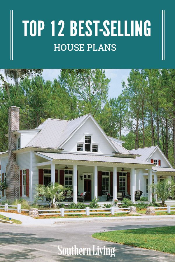Top 12 Best Selling House Plans House Plans Southern House Plans Craftsman House Plans