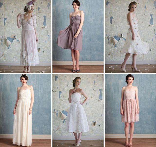 Vintage Inspired Dresses Plus Size Ruche Plus Wedding Dresses