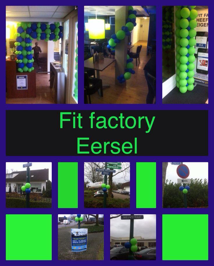 Deco voor open week fit factory Eersel