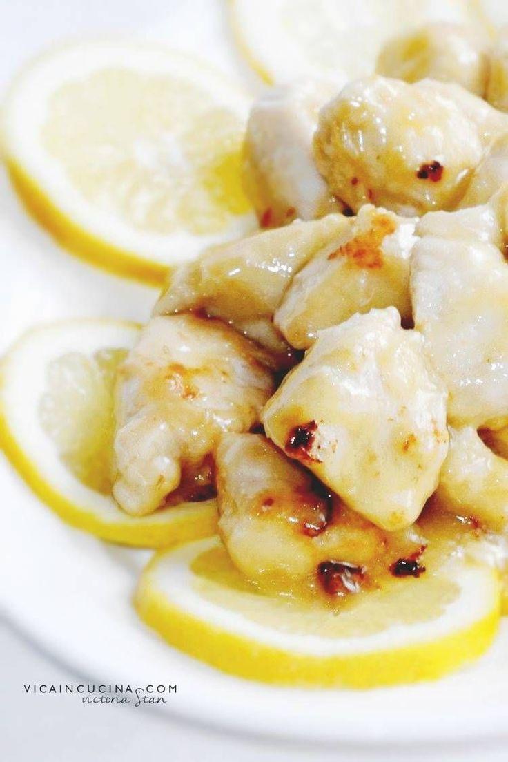 Bocconcini di pollo al limone ricetta con foto passo passo di @vicaincucina | Altre ricette su Vicaincucina.com