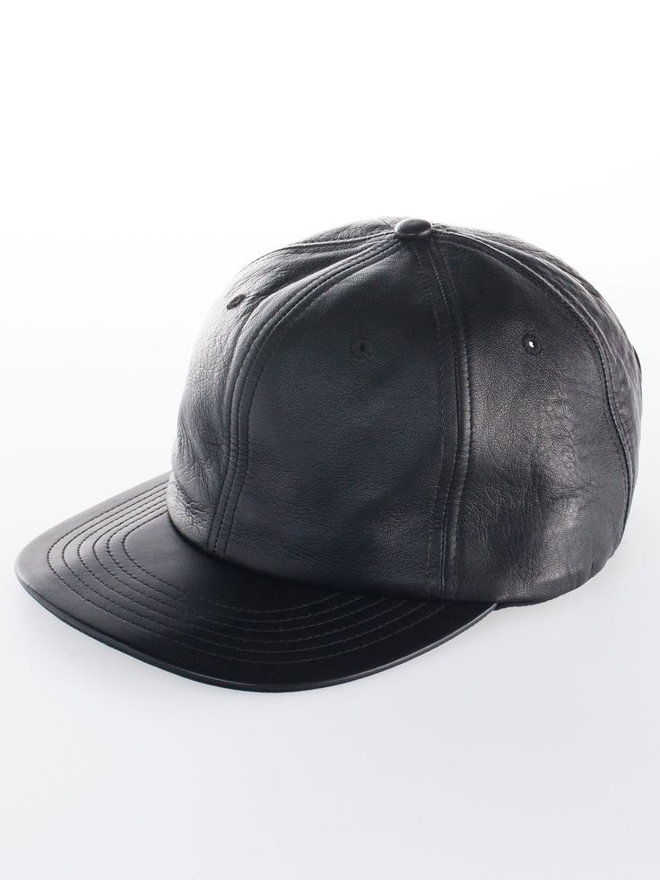 American Apparel - Leather Hat