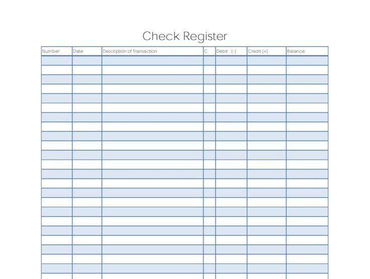 Checkbook Register Templates 10 Free Docs Xlsx Pdf Printable Check Register Check Register Checkbook Register