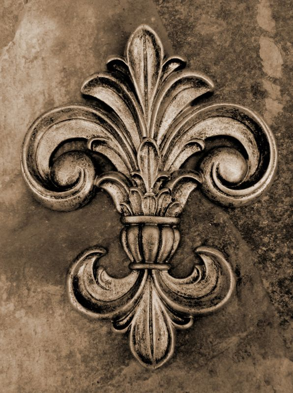 Ornamentation Fleur-de-lis: A stylized lily decorative piece. It's really popular with the French as a sort of non-official emblem, though it was …