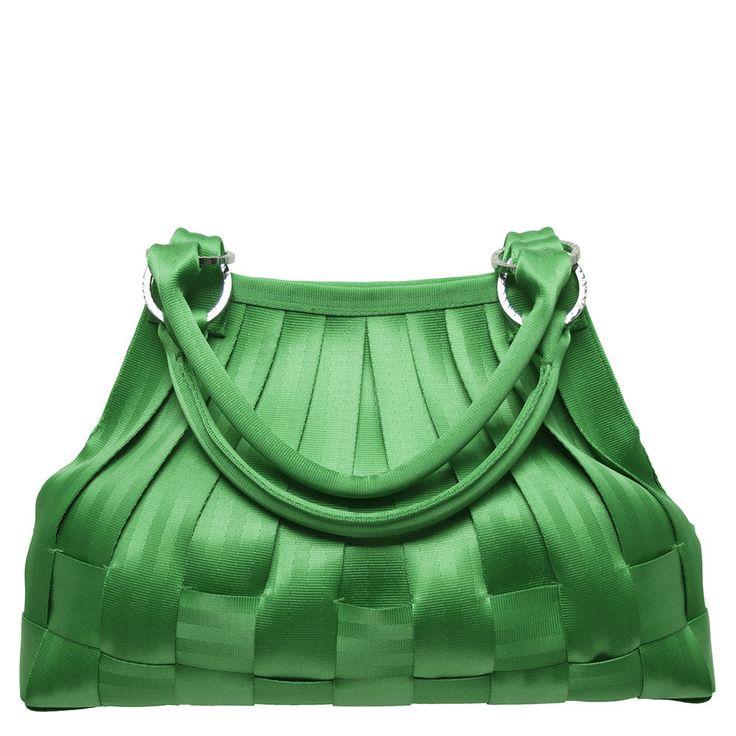 Harveys Seatbelt Bags KELLY GREEN LARGE STELLA HOBO factory find ****SALE****** #HarveysSeatbeltbags #STELLAHOBOLARGE