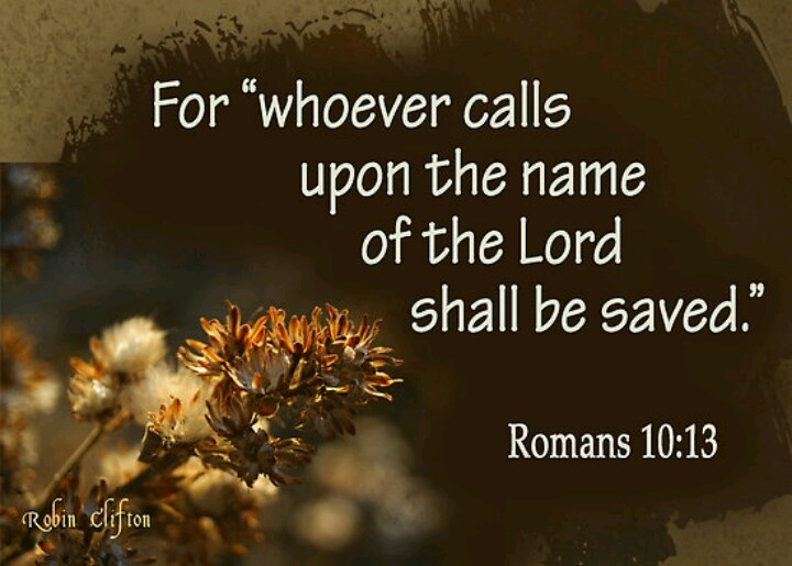 Romans 10:13 #JesusCalling #October2