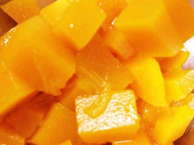 離乳食 中期 〜かぼちゃのだし煮〜の画像