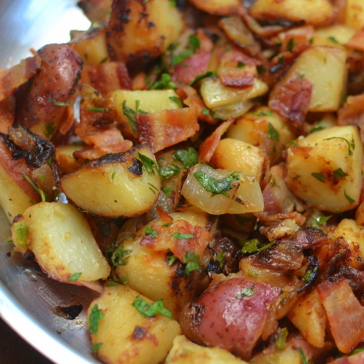 Skillet German Potato Salad | Small Town Woman