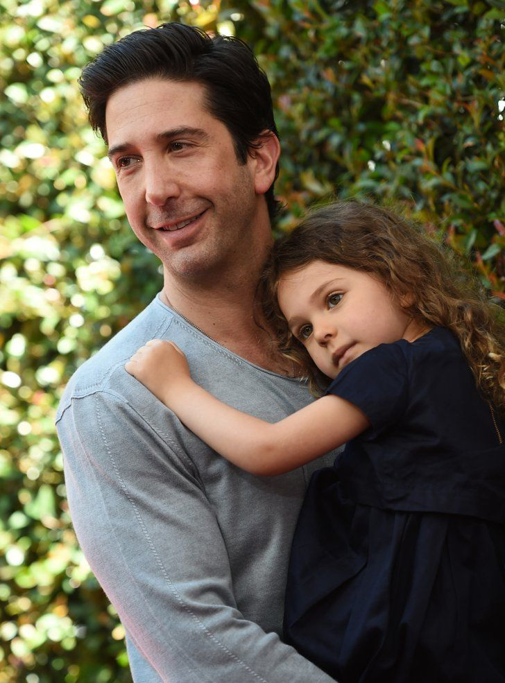 Pin for Later: David Schwimmer Shows Off His Adorable Daughter, Cleo, in a Rare Red Carpet Appearance