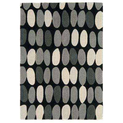 Debenhams Grey Wool Sofia Rug At