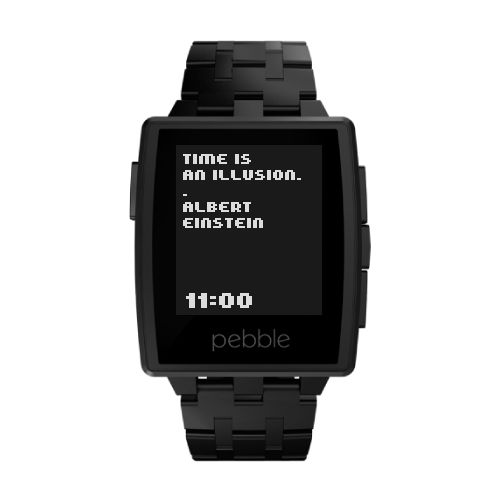 ttmmis - #TTMM watchface app for #Pebble. http://www.ttmm.eu
