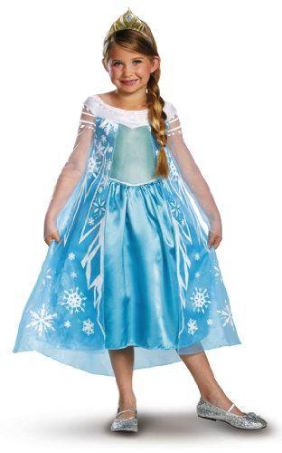 Disney's Frozen Elsa Deluxe Costume