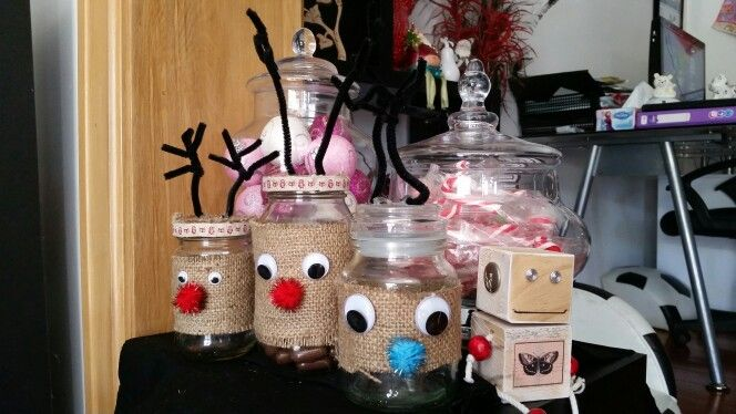Booms and mine reindeer jars nearly empty already