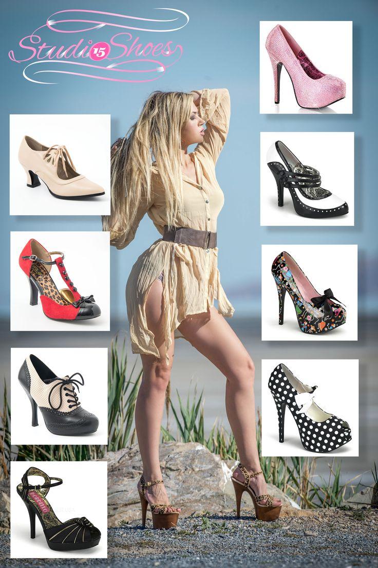 Studio 15 Shoes catalogue page