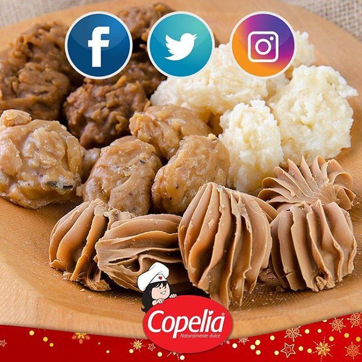 Síguenos en las redes sociales y antójate cada vez más de la calidad de nuestros #ProductosCopelia. www.alimentoscopelia.com  #Panelitas #Coco #Copelia #Arequipe #Dulce #Cocadas #AmoACopelia #NosGustaCopelia #Instagood #Instafood #DulceDeLeche #LecheCondensada #Postres #Dulce #Sugar #Sweet #colombia