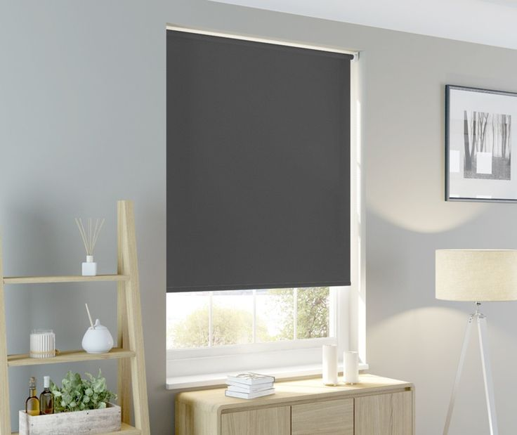 Ready Made Blackout Roller Blind - Slate — Matalan Direct