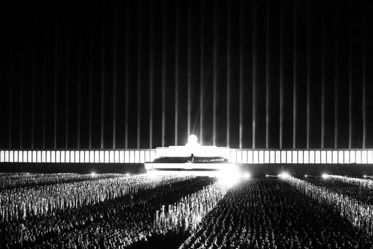 Cathedral of Light-albert speer ,fascist