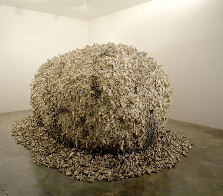 by Kwang-Young Chun (paper art)
