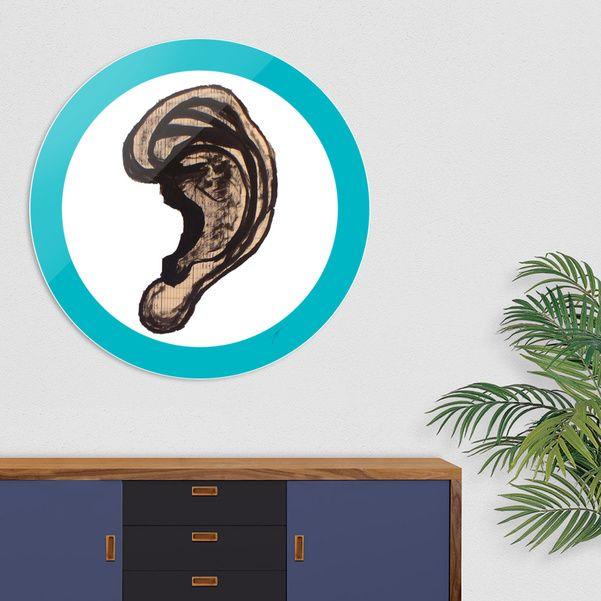 Découvrez «Oreille Ear», Édition Limitée Oeuvres sur Disque par David Damour - À partir de 59€ - Curioos