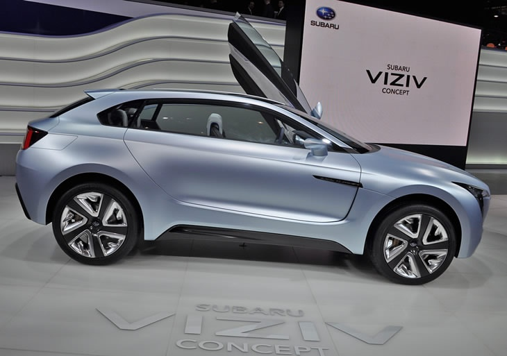 2013 Subaru Viziv Concept Revealed at Geneva Motor Show