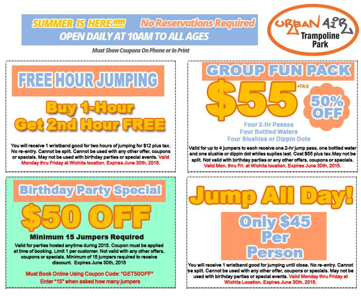 Kid Friendly Family Fun Attractions in Coupons