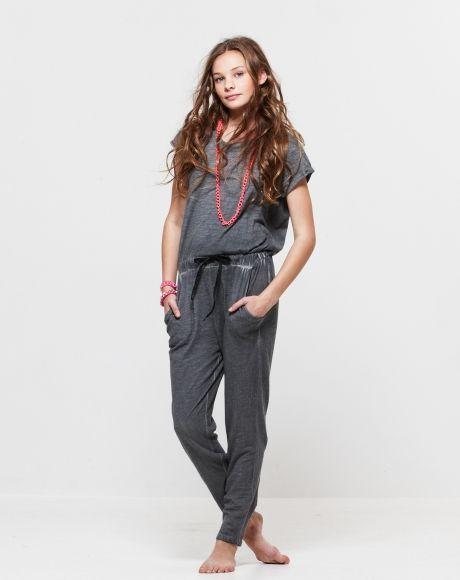 Pavement United Brands - Savannah Jumpsuit + Pink Chain Necklace