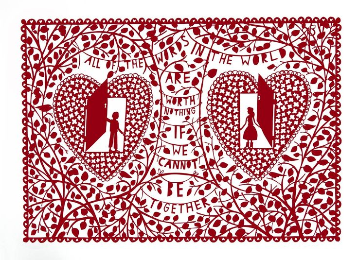 Rob Ryan - All the Words in the World | Art