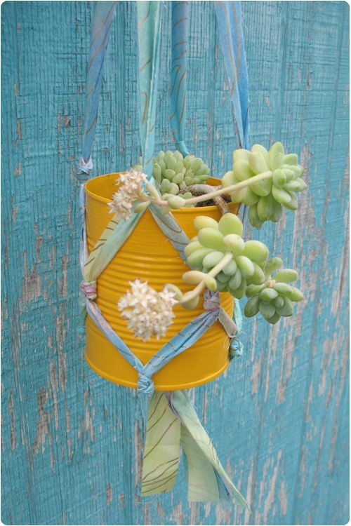 Riciclare barattoli di latta: 23 idee creative…