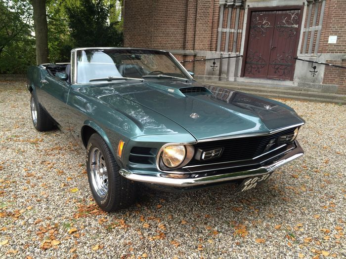 Ford Mustang Convertible 351 V8 - 1970