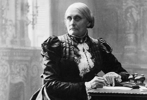 The role of susan b anthony in the woman suffrage movement
