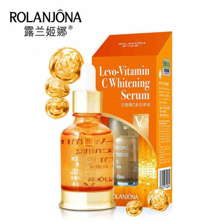 1 pc Levo-Vitamin C Whitening Serum Skin Toner Essence Hydrating Moist Brighten Fade Yellow Acne Spots Anti-Aging 30ml A5302 #Affiliate