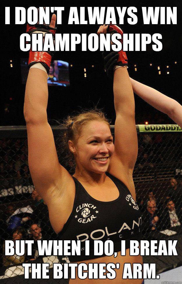 Funny Ronda Rousey Memes (19 Pics)   Funny All The Time