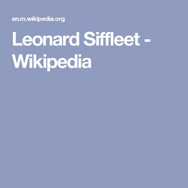 Leonard Siffleet - Wikipedia