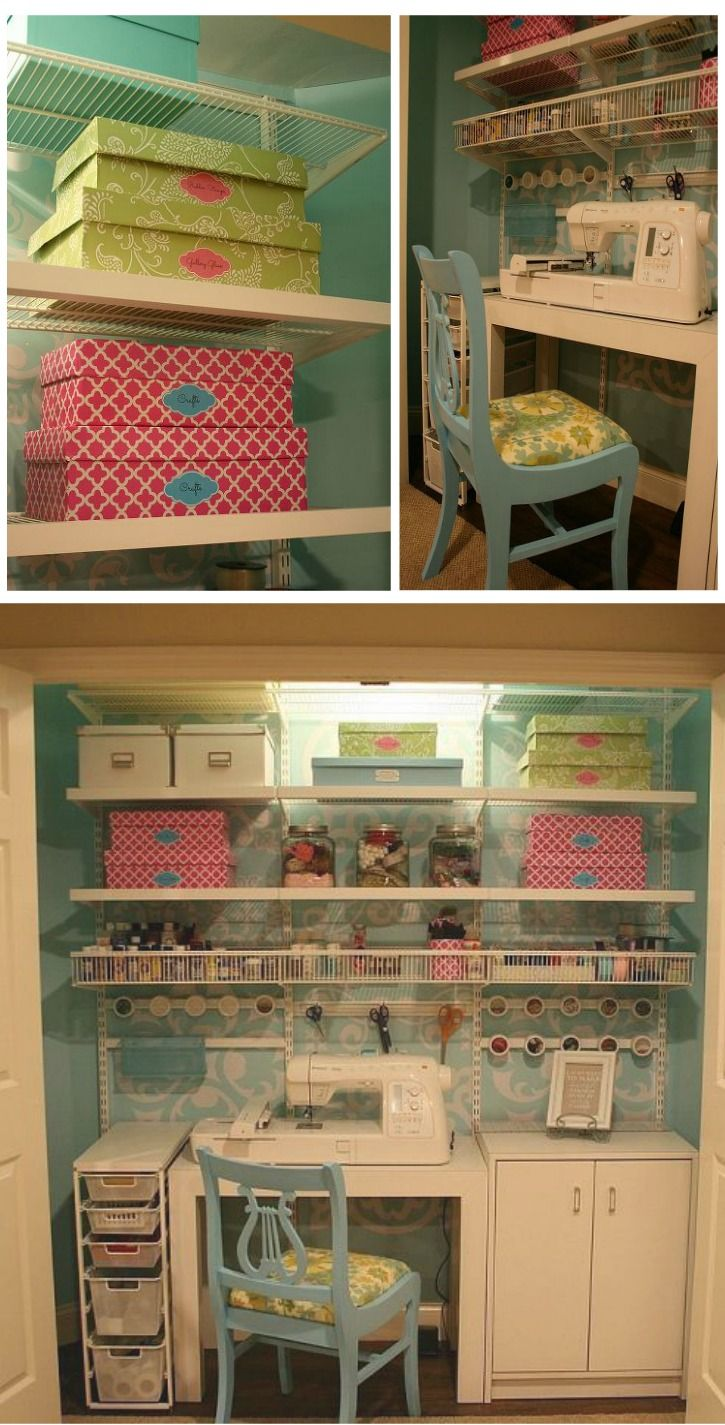 Craft/Sewing Closet