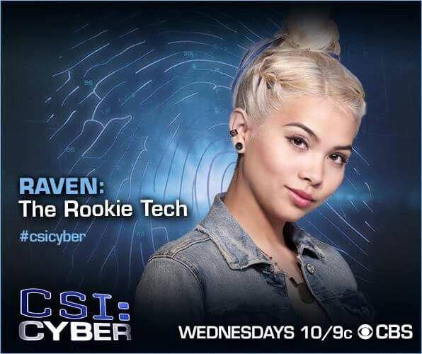 CSI Cyber. She's awesome.
