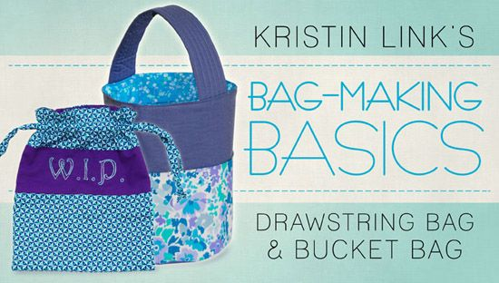 Craftsy FREE Bag Making Class – Learn the Drawstring Bags & Bucket Bag + More #craft #hotdeals